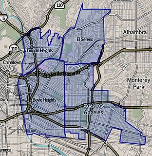 Eastside Los Angeles region of the city of Los Angeles, California, United States
