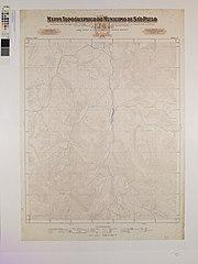 Mappa Topographico do Municipio de São Paulo - Folha 12