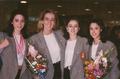 María Fernández, Estíbaliz Martínez, Nuria Cabanillas y Tania Lamarca 1995 Barajas.PNG