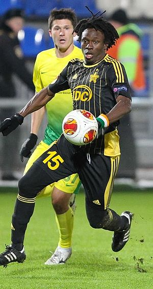 Marcel Metoua - Metoua with FC Sheriff in 2013