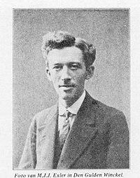 Marie Jacobus Johannes Exler (1882 - 1939) als jongeman.jpg