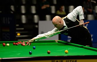 Mark King (snooker player) - Mark King at the 2015 German Masters