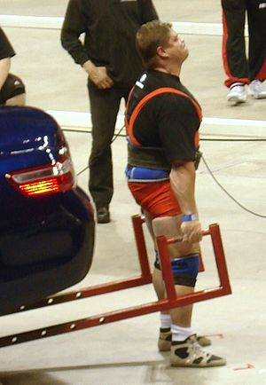 Mark Philippi (a strength athlete from the Uni...