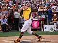 Mark Trumbo competes in semifinals of '16 T-Mobile -HRDerby. (28492220441).jpg