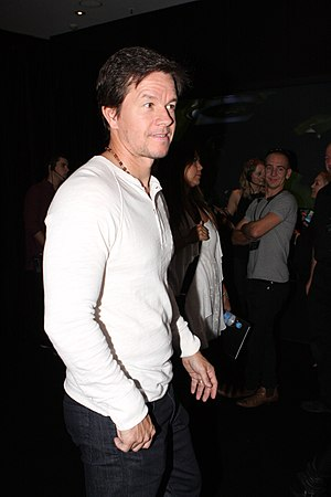 Mark Wahlberg - Wahlberg in the Transformers: Age of Extinction premiere in 2014