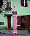 Market square in Chocianow (4) Pink Pump.jpg