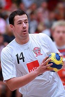 Marko Vujin Serbian handball player
