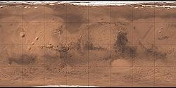 (Voir situation sur carte: Mars)
