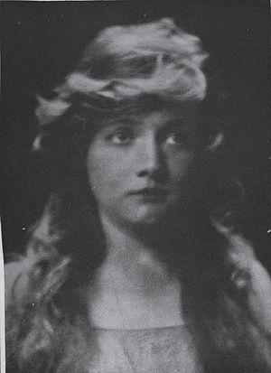 Martha Hedman - Photo of Hedman, published in 1915
