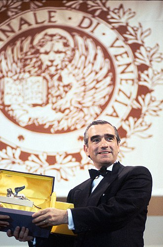 Cinema of Italy - Martin Scorsese receiving a Golden Lion, the most prestigious award given out at the Venice Film Festival, the oldest film festival in the world.