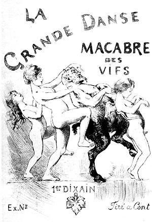Martin van Maële - La Grande Danse macabre des vifs (1905)