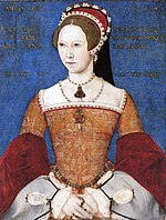 Mary as a young woman