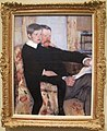 Mary cassatt, ritratto di alxander J cassatt e suo figlio robert kelso, 1884.JPG