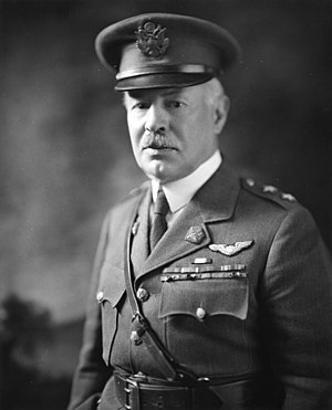 Henry H. Arnold - Maj. Gen. Mason M. Patrick, Chief of Air Service