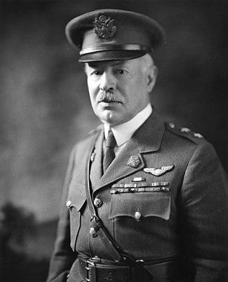 Henry H. Arnold - Maj. Gen. Mason M. Patrick, Chief of Air Service