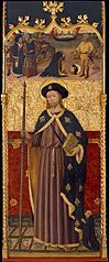 Saint James with a Donor, Decapitation of Saint James