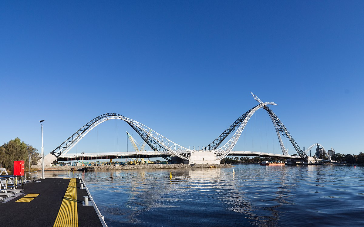 Matagarup Bridge - Wik...