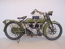Matchless 1000 cc War Model uit 1918