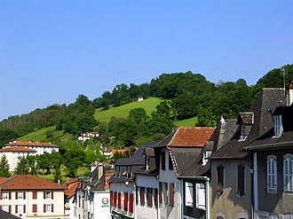 Basque Country (greater region) - Town of Maule (Mauléon) in (Soule)