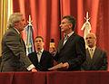 Mauricio Macri tomó juramento a Conte Grand como nuevo Procurador de la Ciudad (7029621409).jpg
