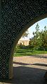Mausoleum of Kamal al-Molk - Morning - south view - Nishapur 01.JPG