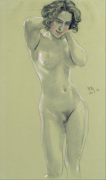 File:Max Klinger - Female Nude - Google Art Project.jpg