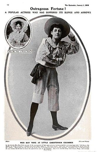 Little Christopher Columbus - May Yohé as Little Christopher