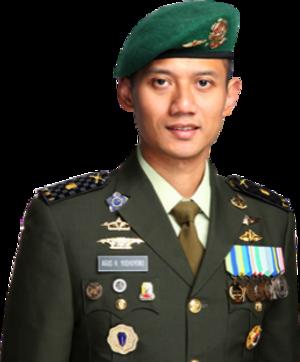 Agus Harimurti Yudhoyono - Image: Mayor Infanteri Agus Harimurti Yudhoyono, M.Sc., MPA