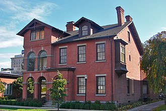McClintock House (built 1841) McClintock Hall Wilkes B PA.jpg