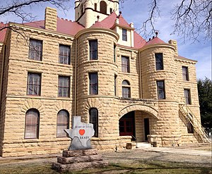 Brady, Texas - McCulloch County Courthouse in Brady