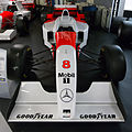 McLaren MP4-11 front Donington Grand Prix Collection.jpg