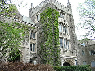 McMaster University - University Hall is one of the oldest facilities still used by the university.
