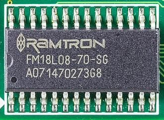Ferroelectric RAM - FeRAM by Ramtron