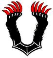Medvelábak (heraldika) fr -- pattes d'ours.PNG