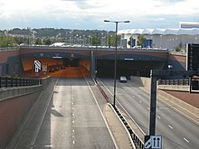 Medway Tunnel - Chatham Side - geograph.org.uk - 546544.jpg