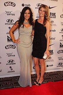 Mel McLaughlin Australian sport television presenter