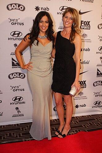 Mel McLaughlin - Mel McLaughlin (left) and Lara Pitt (2011)