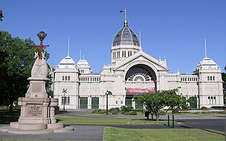 Royal Exhibition Building - Melbourne Royal Exhibition Building (east side)