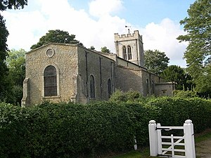 Church of St Mary Magdalene, Melchbourne - Melchbourne Church.