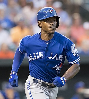 Melvin Upton Jr. - Upton Jr. with the Blue Jays in 2016