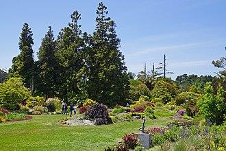 Mendocino Coast Botanical Gardens - Visitors in the gardens