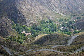 Mendoza Province - Villavicencio.