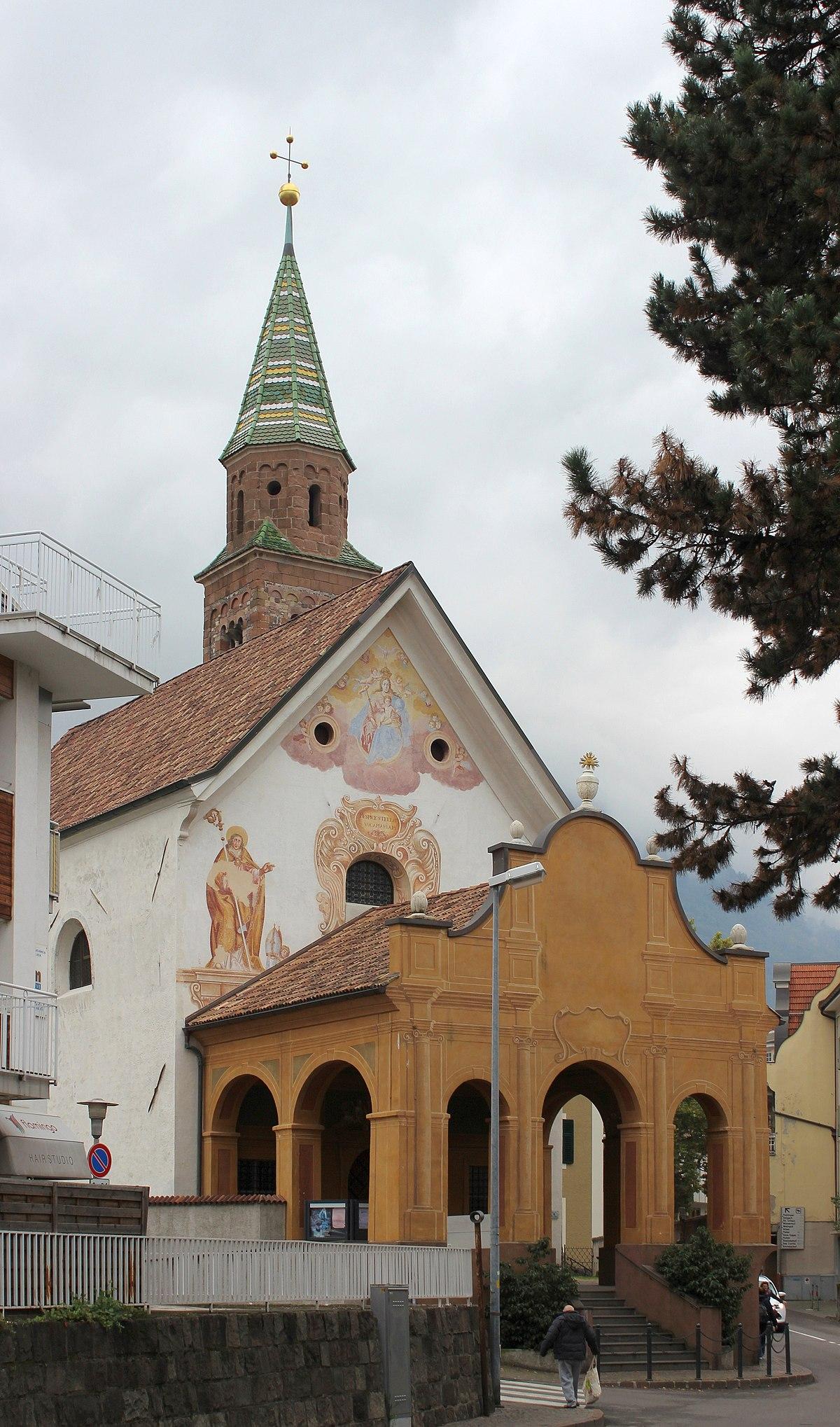 Chiesa di santa maria del conforto merano wikipedia for Quando si festeggia santa ilaria