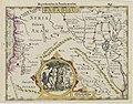 Mercator, Gerhard ; Jodocus Hondius. PARADISUS on verso text ITINERA DESERTI.15 x 19 cm. Amsterdam Hondius 1607.jpg