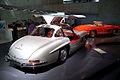 Mercedes-Benz 300SL 1955 Flügeltüren Gullwing Coupè RSideRear MBMuse 9June2013 (14796941439).jpg
