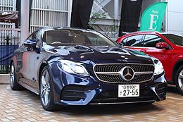 Mercedes-Benz E300 Coupe Sports (C238) by Japan specification.jpg