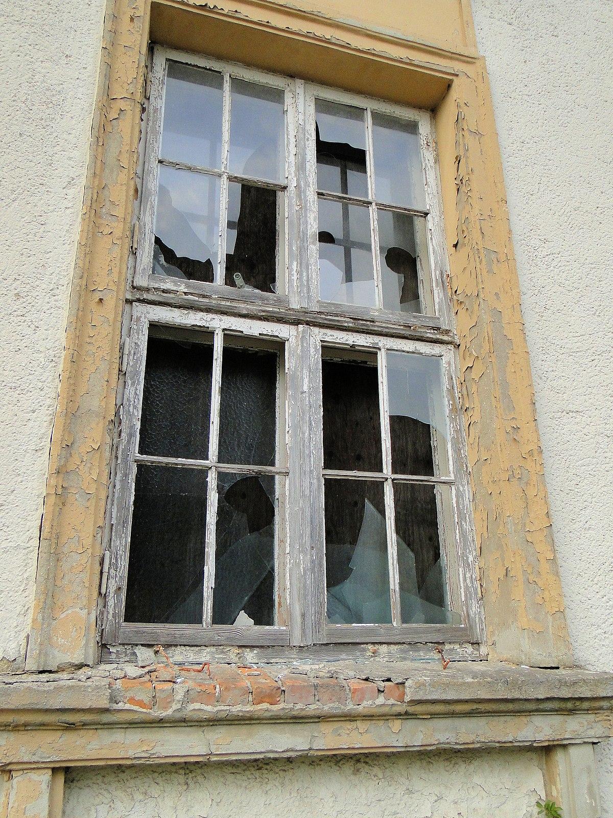 Broken windows theorie wikipedia for Fenster englisch