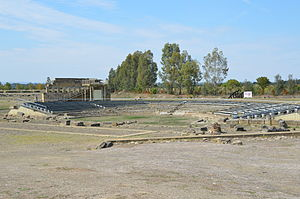 Ekklesiasterion - The theater of Metapontum was built over the ekklesiasterion