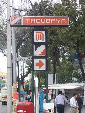 image illustrative de l'article Tacubaya (métro de Mexico)