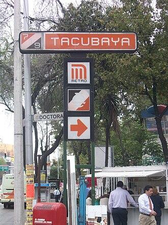 Tacubaya - Tacubaya Metro Station